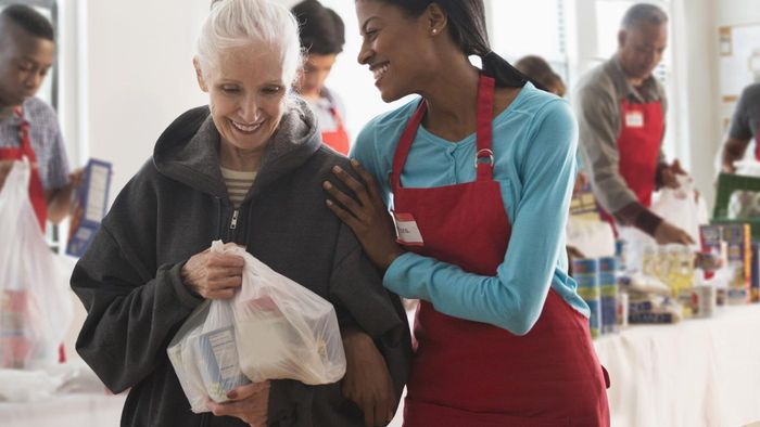 What are the benefits of working for a charity?