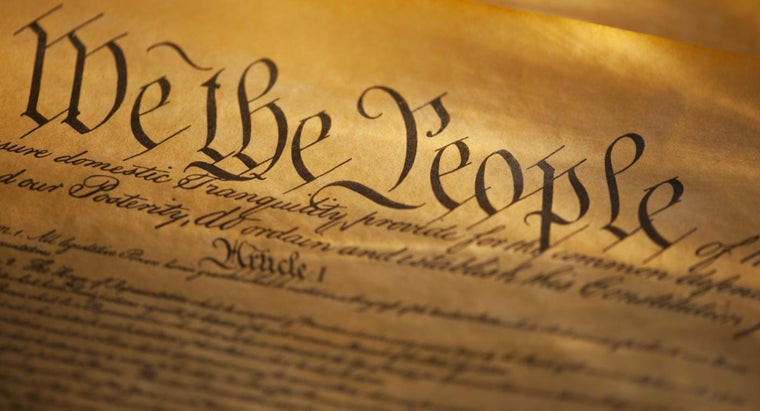 What Are the First 10 Amendments to the Constitution?