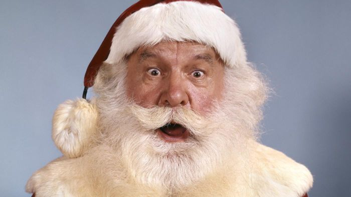 How Do You Shave Your Beard to Look Like Santa Claus?