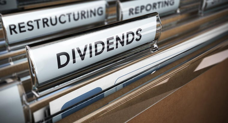 How Do You Calculate a Stock's Dividends?