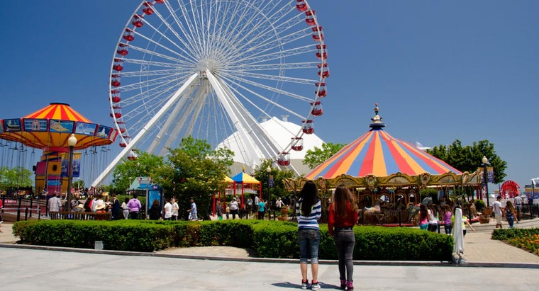 What Are Some Popular Theme Parks in the United States?