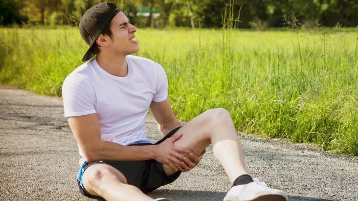 What are some treatment options for a ligament injury?