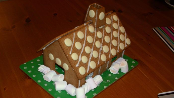 Where Can You Find Images of Gingerbread Houses?