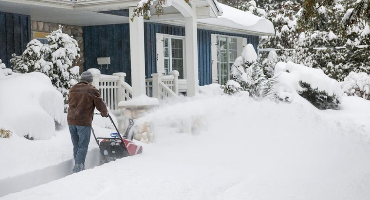 What Are Some Popular Snow Blowers Available From Tractor Supply?
