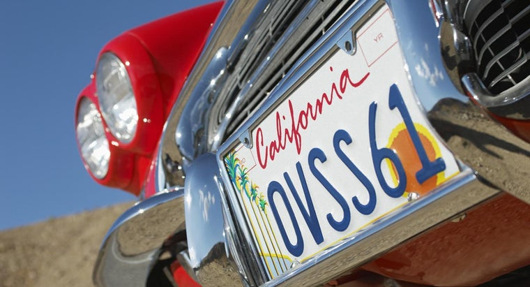 What Is the Cost of Getting a New License Plate?