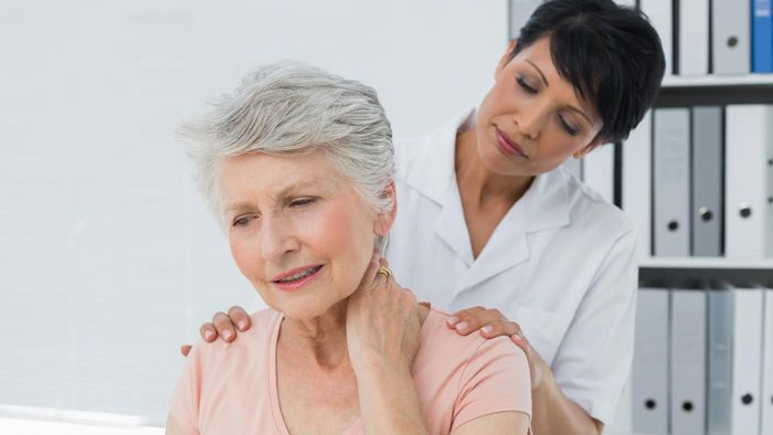 What therapy is recommended for neck and shoulder pain?