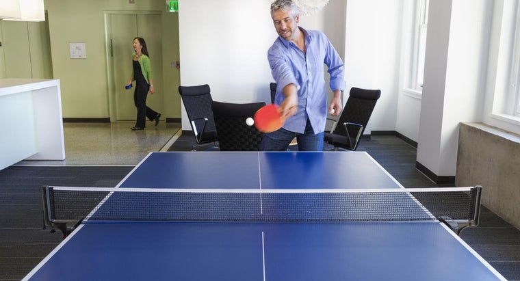 What Is a Regulation Size Ping Pong Table?