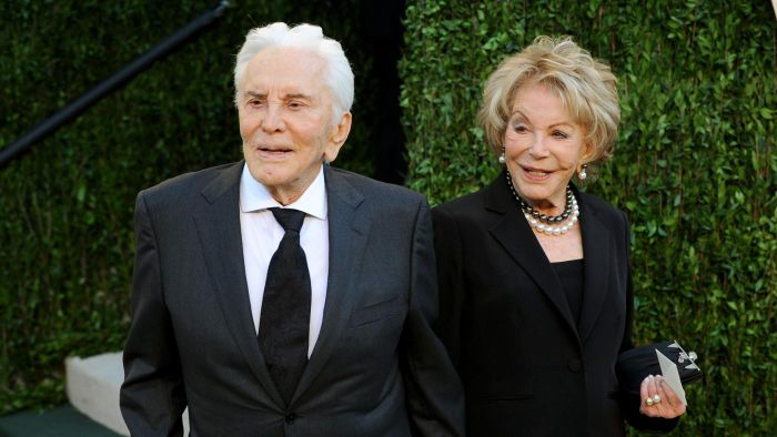 How Many Times Was Kirk Douglas Married?