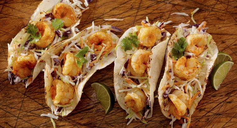 Where Can You Find a List of Shrimp Taco Recipes?