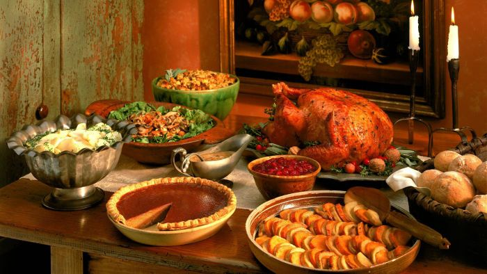 Which Websites Have Photos of Thanksgiving Tablescapes?