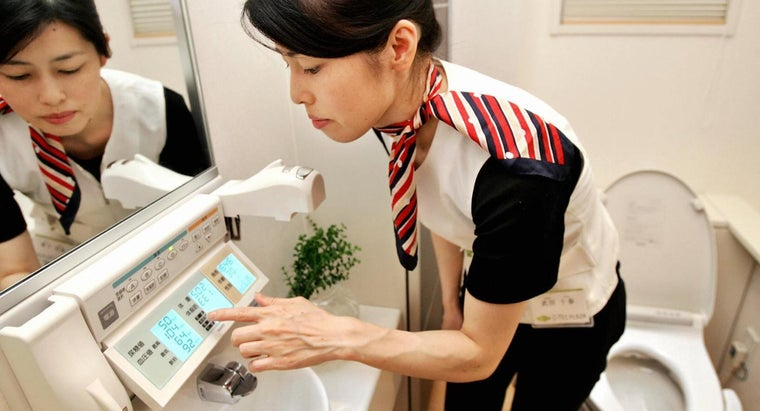 Where Do Toilets Also Take Your Blood Pressure?