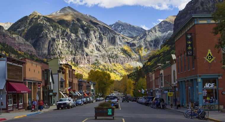 Where Can You Find a Map of Colorado?