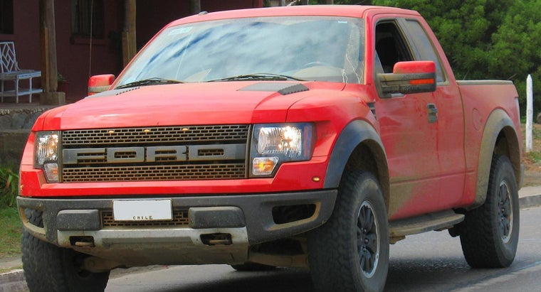 What Are the Special Features of an F-150 Ford Raptor?