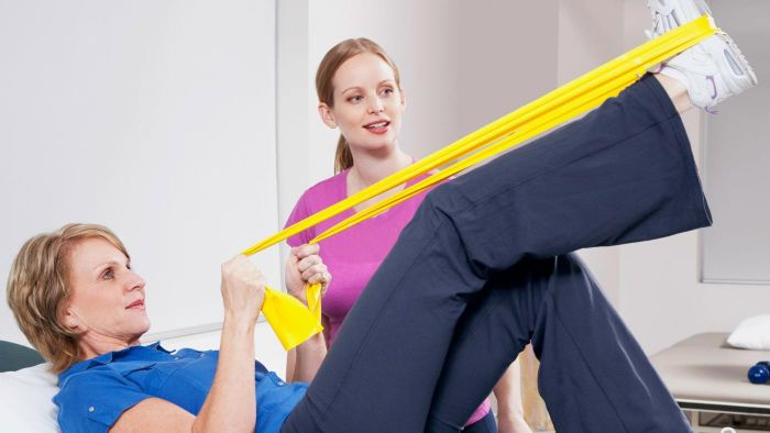 What are typical physical therapist classes?