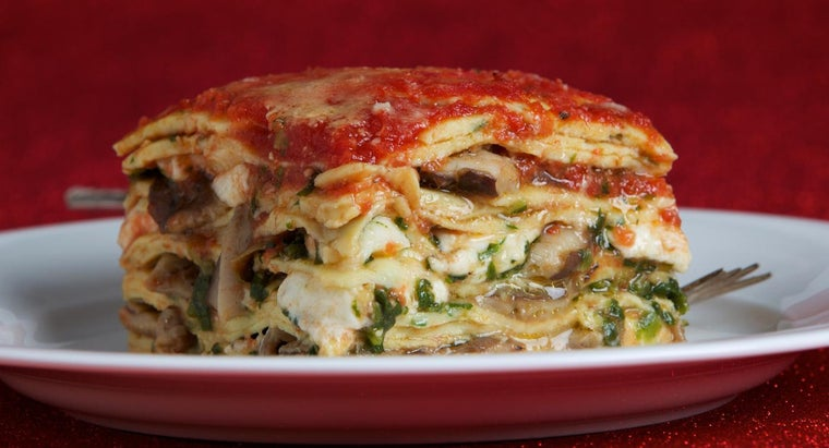 How Do You Make Spinach Lasagna?