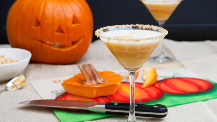 What Is a Good Recipe for Pumpkin Martinis?
