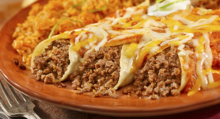 What Is a Simple Beef Enchilada Recipe?