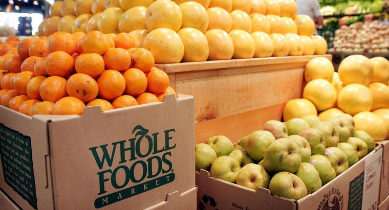 When Did the First Whole Foods Store Open?