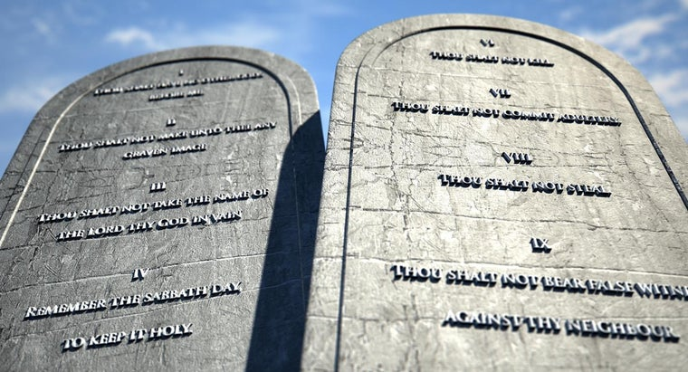 Which of the 10 Commandments Is the Most Important?