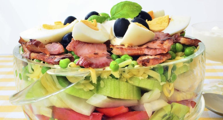 What Do the Seven Layers of the Traditional Seven-Layer Salad Consist Of?