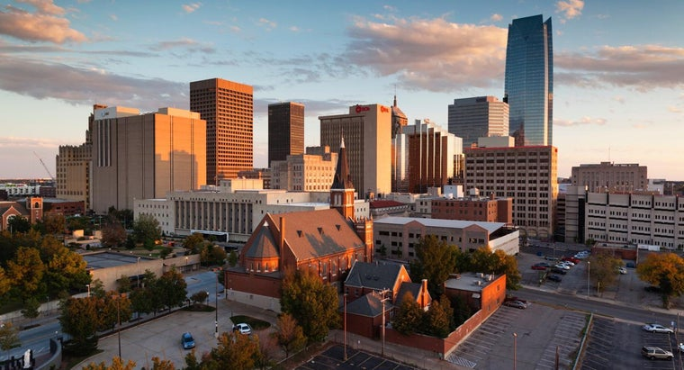 What Are Some Cities and Towns in Oklahoma?
