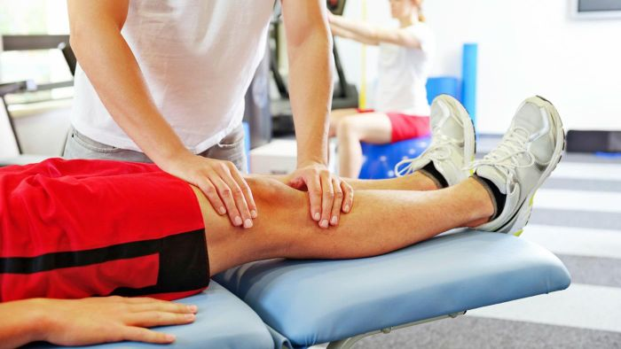 What is the procedure for meniscus surgery?