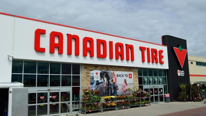 What Is Sold at Canadian Tire?