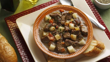 What Is a Recipe for Beef Stew Cooked on a Stove Top?