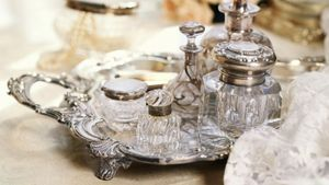 How Can You Find a Vintage Perfume Tray?