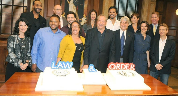 """Who Are Some of the Actors and Actresses From the """"Law & Order"""" Series?"""