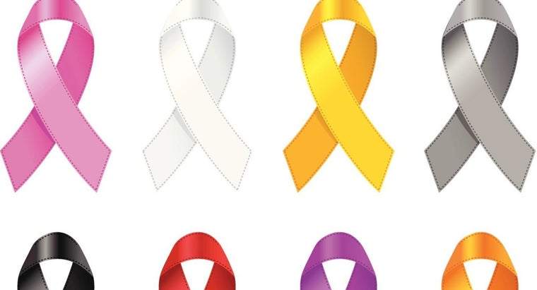 What Is the Preferred Color of Ribbon for Lung Cancer Awareness?