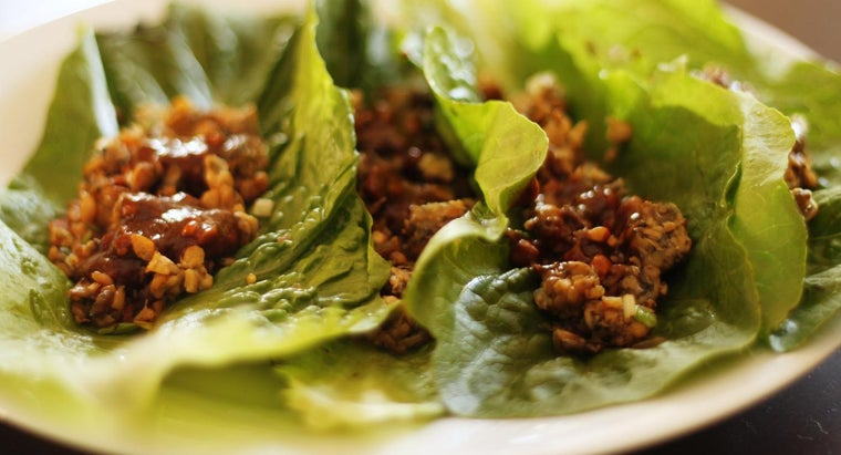 What Are Some Lettuce Wrap Recipes?