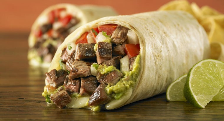 Where Can You Find a Simple Recipe for a Beef Burrito?