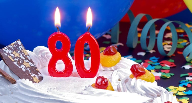 What Are Some Ideas For An 80th Birthday Party