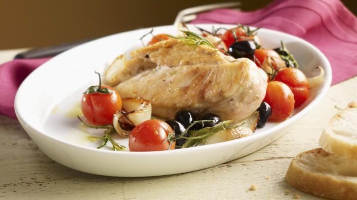 What Is a Good Recipe for Baked Chicken Breasts?
