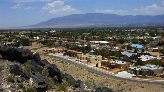 How do you find a map of the ZIP codes in Albuquerque?