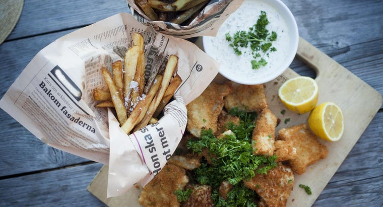 What Is a Recipe for Classic English Fish and Chips?