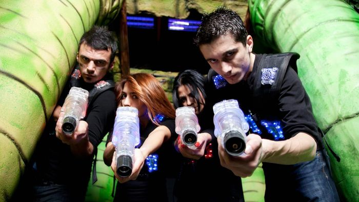 What Stores Sell Laser Tag Sets for Four Players?