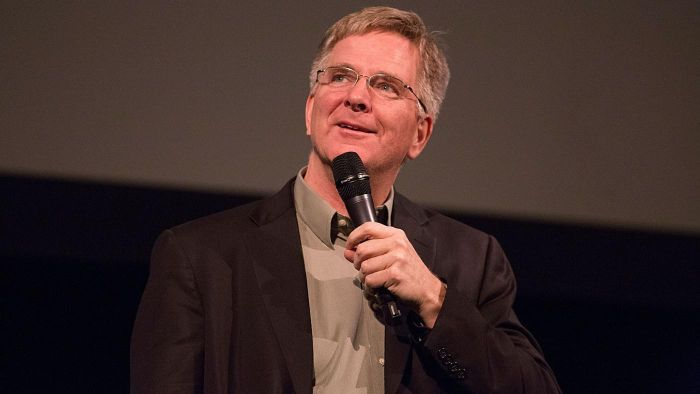 When Did Rick Steves Divorce His Wife?