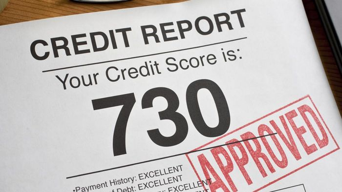 Where can you find a credit score rating chart?
