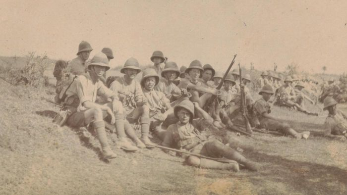 Are there any records of the soldiers who served in World War 1?