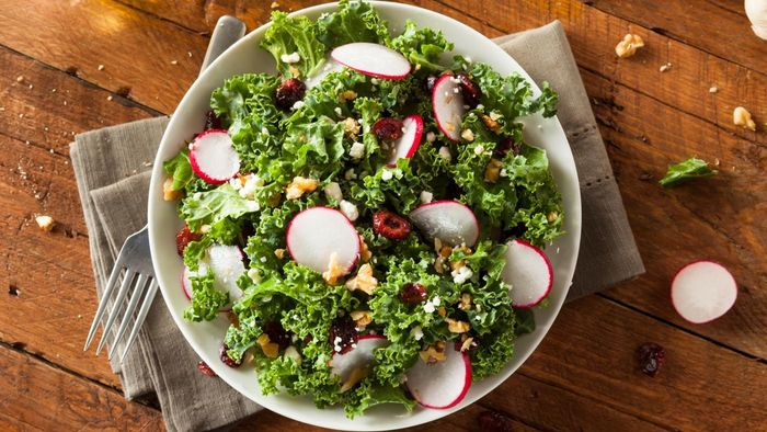 What Are Some Recipes for Kale Cranberry Salad?