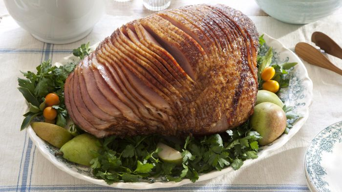 How Do You Determine Whether a Ham Is Fully Baked?