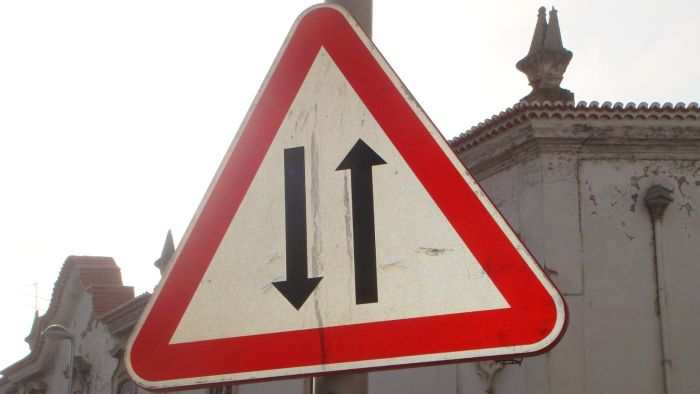 What Are Sample Road Signs on the DMV Driving Test?
