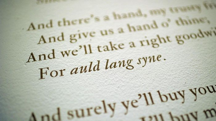 "What Is the History of the Song ""Auld Lang Syne""?"