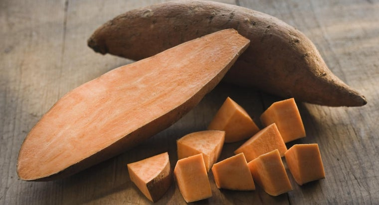 How Many Calories Are in an Average Sweet Potato?