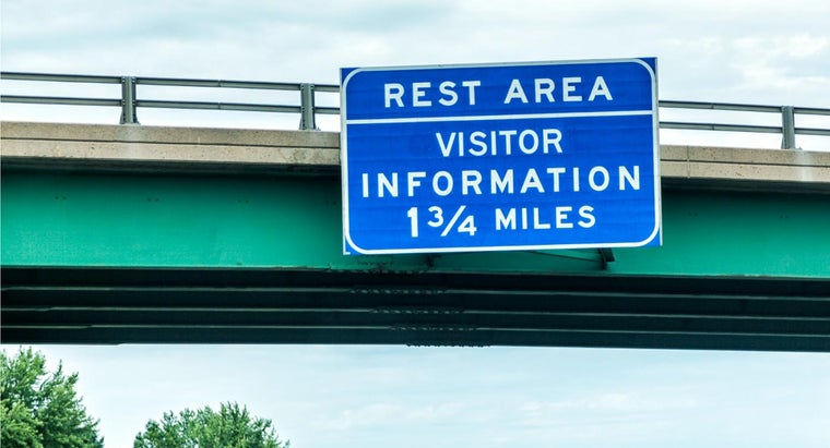 How Many Rest Stops Are Required on the Interstate Highways?