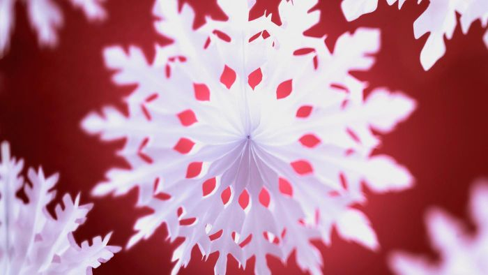 How do you find snowflake pattern cutouts?