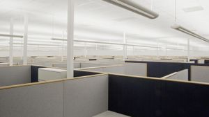 How Do You Use Partition Panels to Create a Private Office Space?