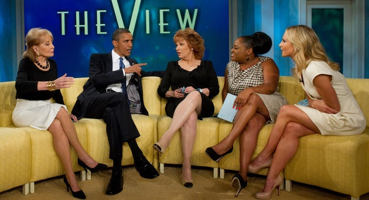 "What Time Does ABC's ""The View"" Air?"